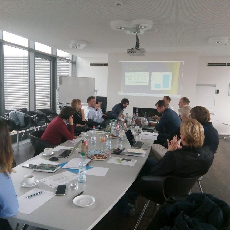 Third Meeting in Potsdam, Germany