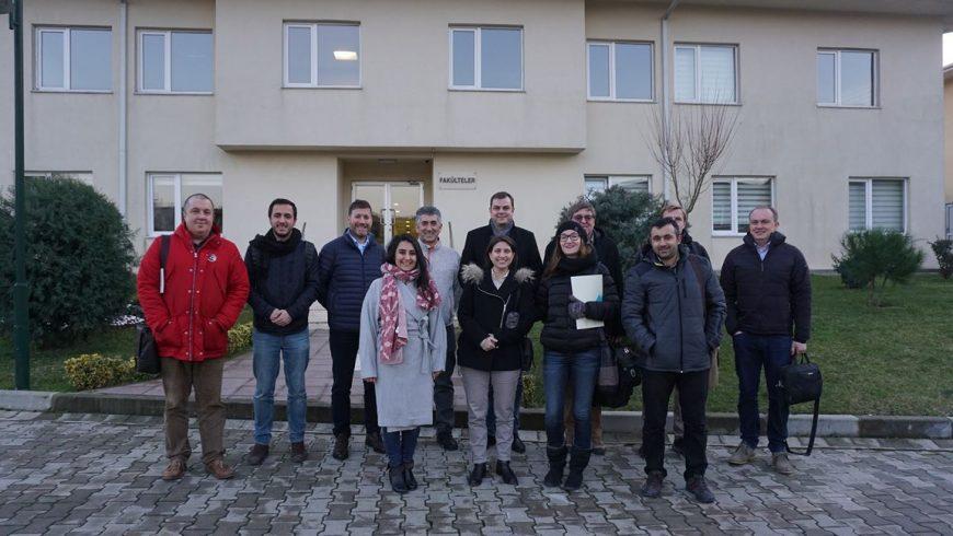 Das erste Treffen in Istanbul